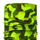Bandana Original BUFF® BLOCK CAMO GREEN - 115211.845.10.00