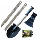 Set multifunctional de camping SURVIVAL 5 in 1