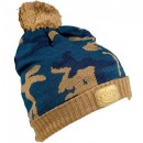 Caciula RidgeMonkey Camo Bobble Hat Brown