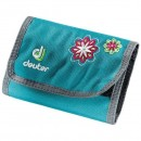 Portofel Deuter Wallet Blueberry-Flower
