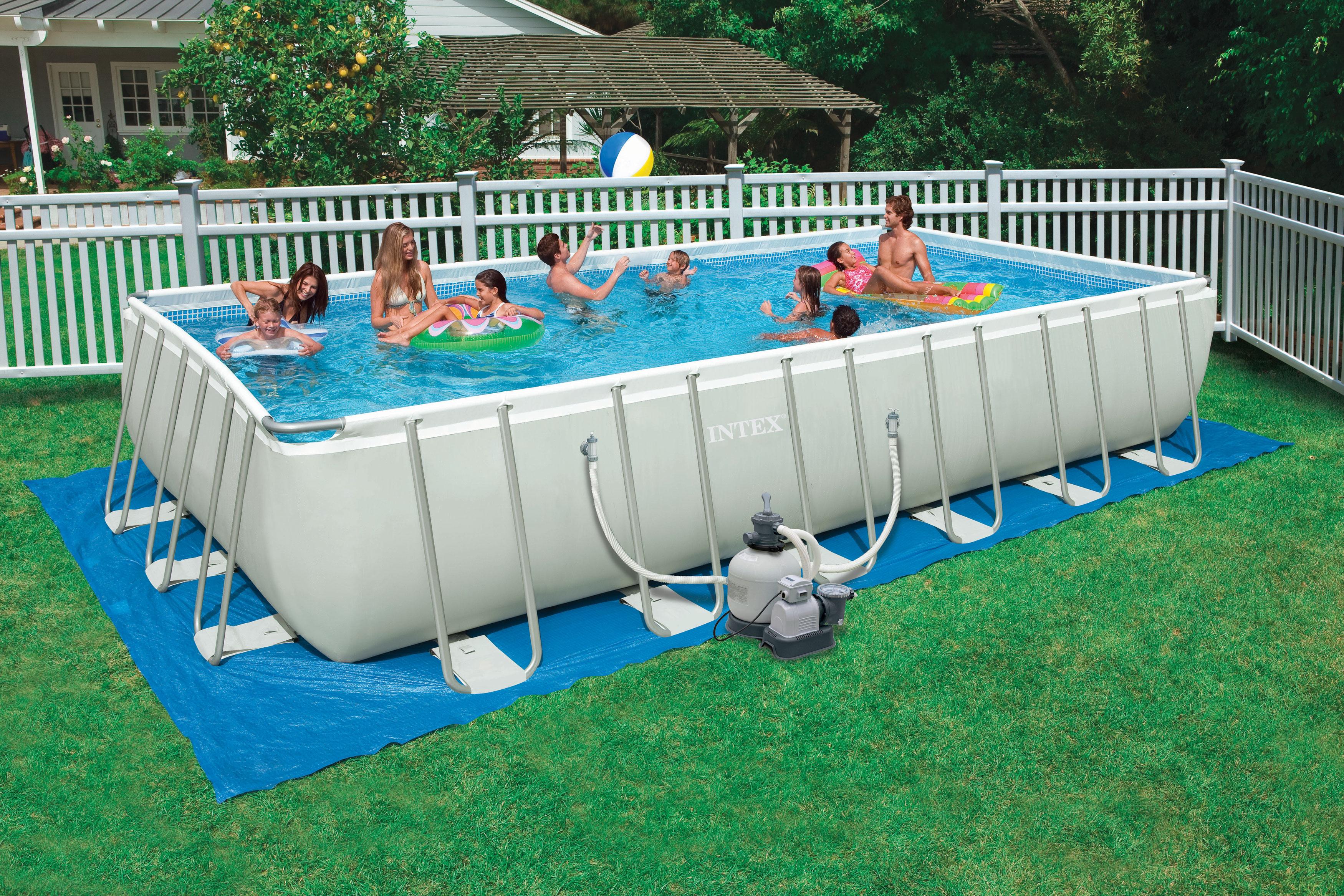 montažni bazeni za dvoriste a naročito popularni porodični bazeni s pumpom kao i deciji bazeni