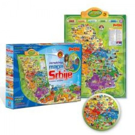 mapa srbije pertini cena Pertini Interaktivna mapa Srbije ( P 0240 )   Prodaja Društvene  mapa srbije pertini cena