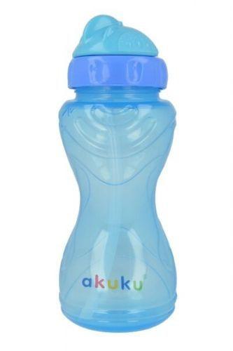 Akuku čaša 360ml sa slamčicom 6m+ ( 0290034 )