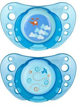 Chicco laža Giotto Physio Air od silikona, plava 0-6m 2kom ( 4100033 )