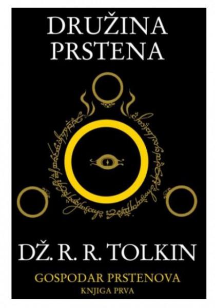 Slika DRUŽINA PRSTENA - Dž.R.R.TOLKIN - I knjiga - tvrd povez ( R0045 )