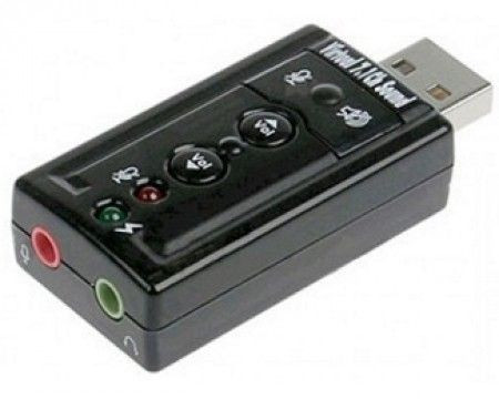 Slika E-GREEN USB virtual 7.1 zvučna karta