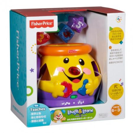 Slika Fisher Price Lončić sveznalica - Didaktička igračka ( ORT1633 )