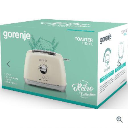 Slika Gorenje T 900 RL Premium linija Retro collection Toster 800W ( 728259 )