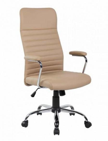 Slika Kancelarijska fotelja 8243H od eko kože - Krem ( 755-998 )