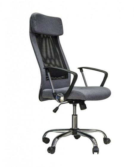 Slika Kancelarijska stolica MARY-R od mesh platna - Crna