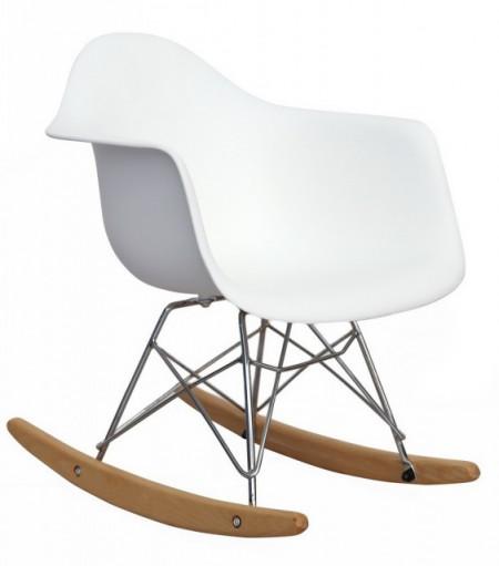Slika Plastična stolica na ljuljanje SEM SWING DEČIJA - Bela