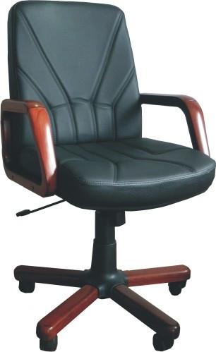 Slika Radna fotelja - KliK 5950 (prava koža) - izbor boje kože