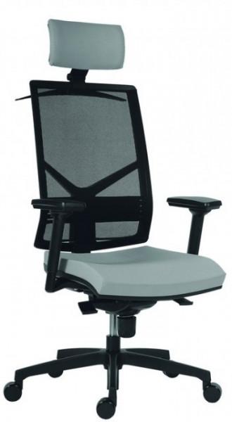 Slika Radna stolica - 1850 Omnia Pdh (mreža + štof u više boja)