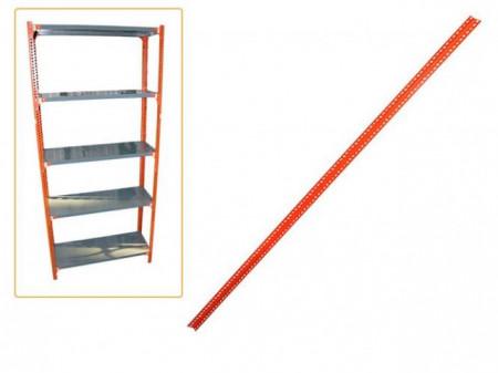 Slika Womax polica garažna noga 38mm x 38mm x 2.5m ( 70001504 )