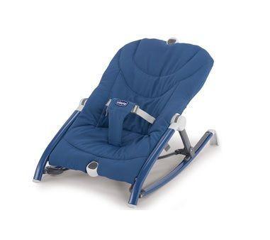 Chicco ležaljka Pocket Relax Blue - plava ( 5210129 )