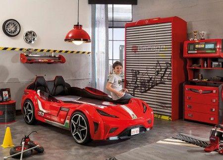 Cilek Gts auto krevet crveni 99x191cm ( 20.02.1350.00 )