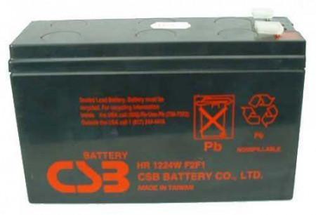 Slika CSB UPS baterija 12V 6,5Ah HR1224WF2F1