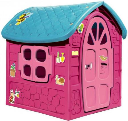 Slika Dohany Velika Kućica za decu 111x120x113cm ( 502788 ) ROZE