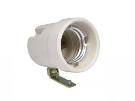 Slika Domaće sijalično grlo E27 sa metalnim držačem ( n130 )