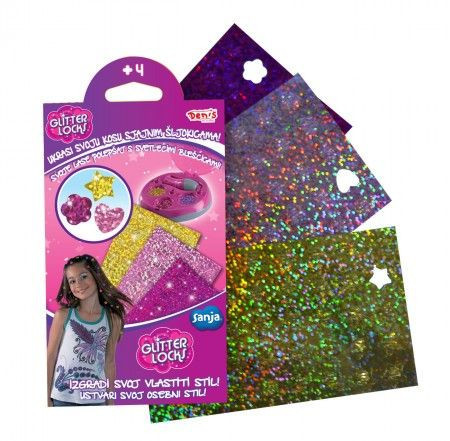 Slika Glitter Locks šljokice ( 23-711000 )