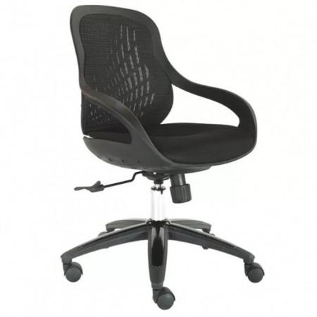 Slika Radna stolica - MONROE - crna boja