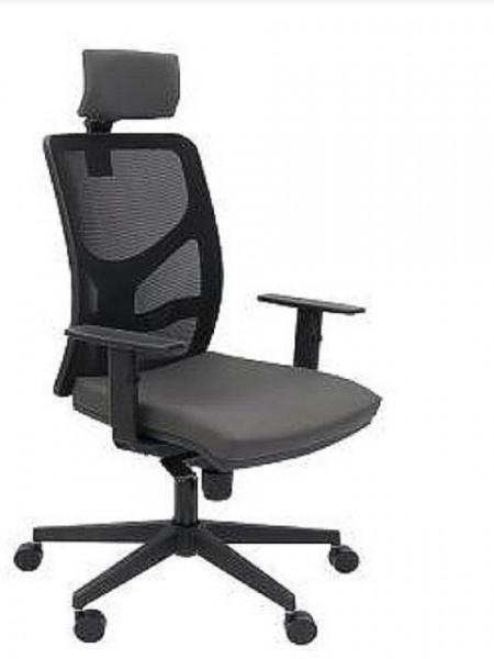 Slika Radna stolica - Y10 PDH (Mreža+ eko koža više boja)