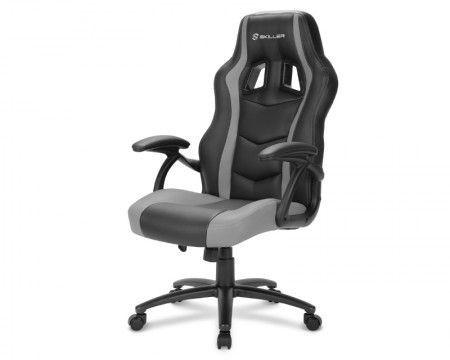 Slika Sharkoon Skiller SGS1 crno-siva Gejmerska stolica
