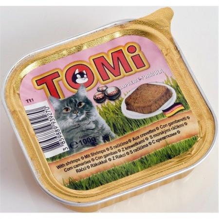 Tomi hrana za mačke pasteta 100g škampi ( TM43026 )