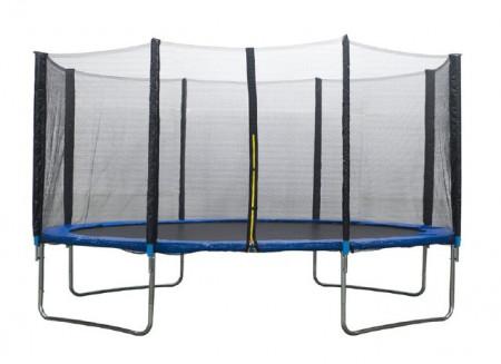 Slika Trambolina 396 cm sa ogradom i mrežom
