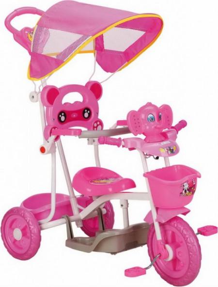Slika Tricikl za decu Slon model TS397 roze