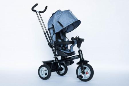 Slika Tricikl za decu Sport Plus sa rotirajućim sedištem - Plavi ( Sport Plus-1 )