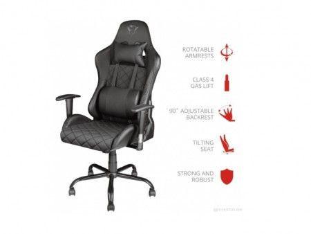 Slika Trust GXT707 Resto chair black ( 23287 )