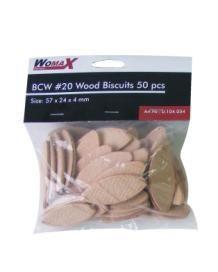 """Womax tipla drvena """"keks"""" BCW br.20 50kom ( 0104054 )"""