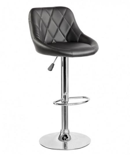 Slika Barska stolica 5015 od eko kože - Crna