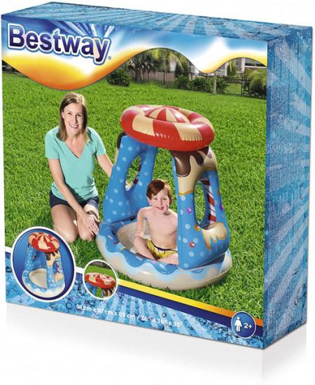 Bestway Bazen za naduvavanje za malu decu Candyville 91 x 91 x 89 cm ( 52270 )