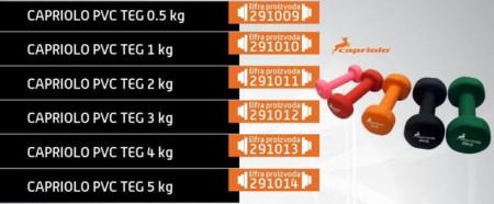 Slika Capriolo pvc teg 3kg ( 291012 )