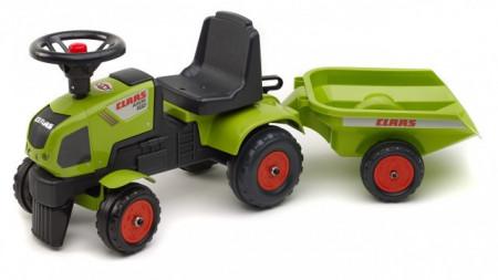 Slika Falk Toys Traktor guralica sa prikolicom 1012b