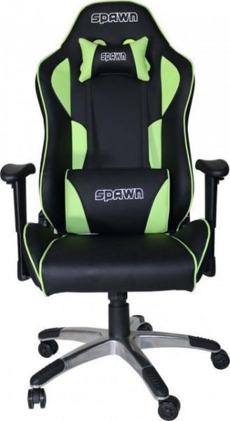 Slika Gaming Chair Spawn CP-BG1B Green/Black ( 029044 )