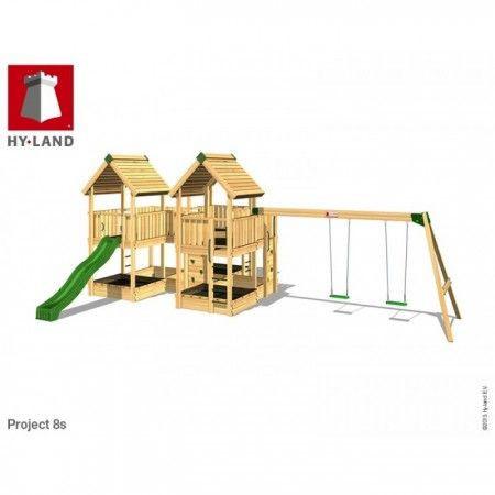 Slika Hy-Land Javno igralište - Projekat 8 sa ljuljaškama