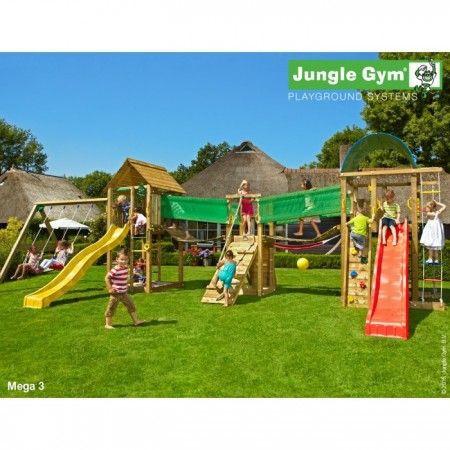 Slika Jungle Gym - Paradise 3 Mega igralište