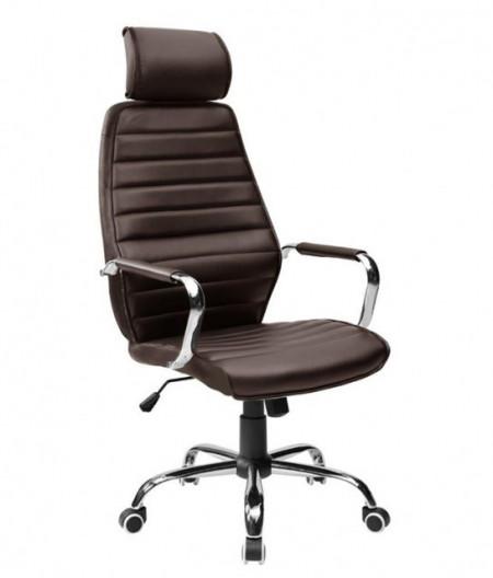 Slika Kancelarijska fotelja 9341H od eko kože - Braon ( 755-995 )