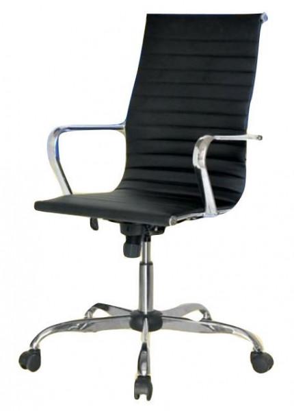 Slika Kancelarijska fotelja EC310 od eko kože - Crna ( 395310 )