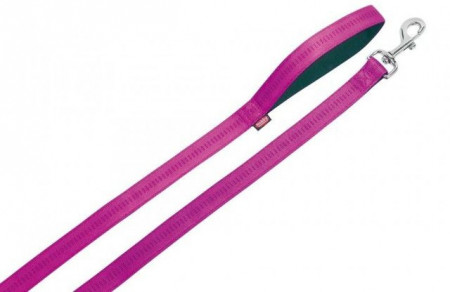 Nobby 78508-77 Povodac Soft Grip 10mmx120cm lila crni ( NB78508-77 )
