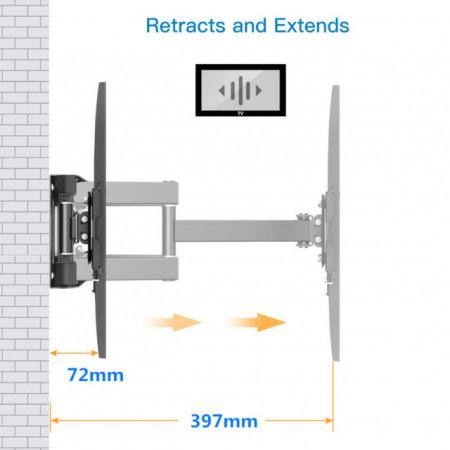 "Trick nosač za televizore 37""-65"" full motion MAX VESA 400x400 ( TR644 )"