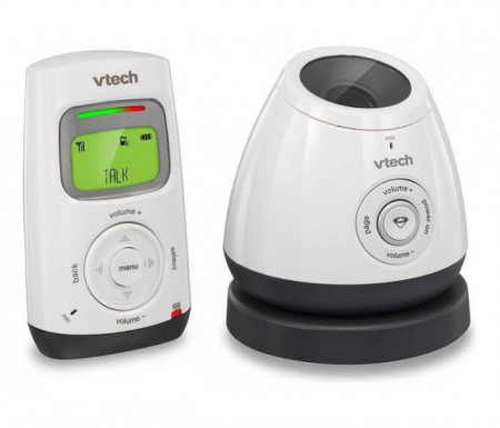 Slika Vtech bebi alarm - audio sa noćnim svetlom ( + sa prikazom temp.sobe) ( BM2200 )