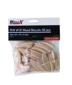 "Womax tipla drvena ""keks"" PLW br.10 50kom ( 0104053 )"