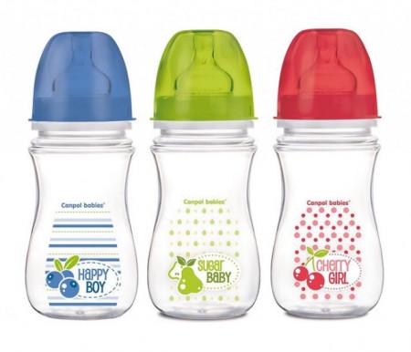 Canpol flašica široki vrat antikolik easy start fruits 240ml ( 35/213 )