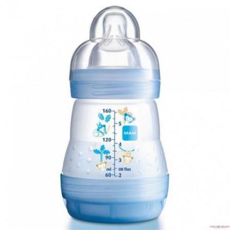 MAM flašica anticolic 160ml silikon 0m+ ( 0190083 )