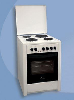 Slika MBS E 60 W1 elektro štednjak - beli