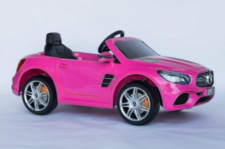 Slika Mercedes SL500 Licencirani Auto za decu na akumulator - Roze ( SL500-2 )